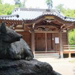 狛犬・・ではない?神社に棲息する多彩な狛〇動物たち